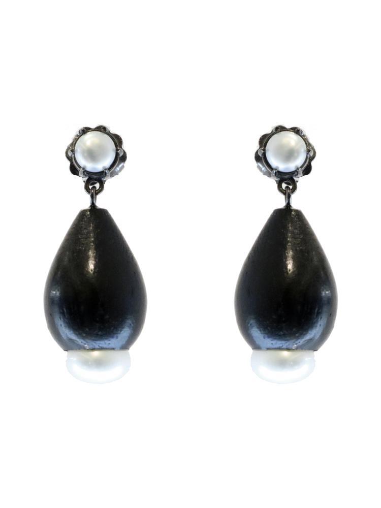 Sterling Silver Earrings Item # C03371