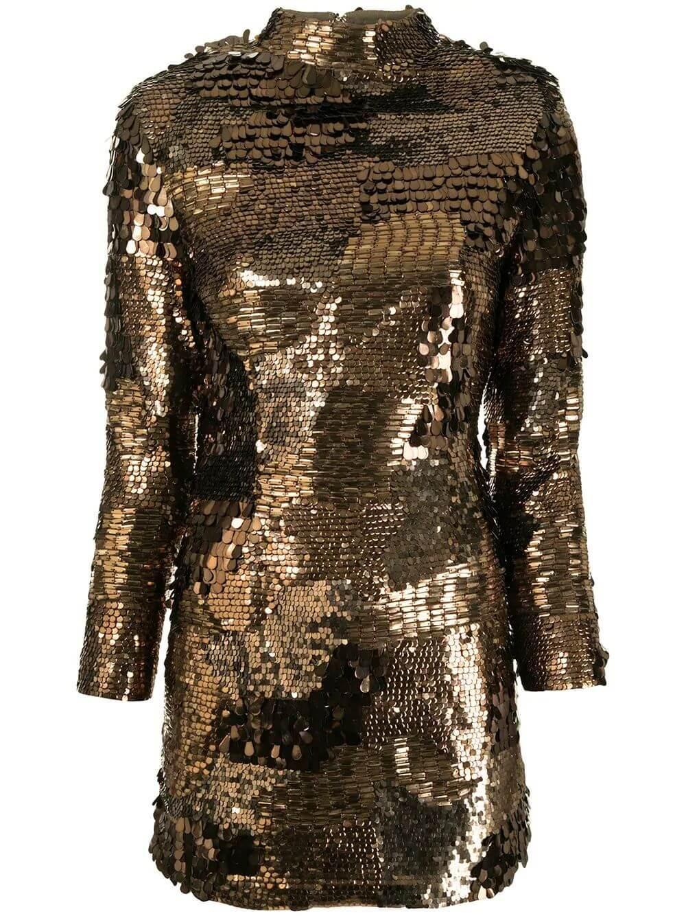 April Sequin Mini Dress