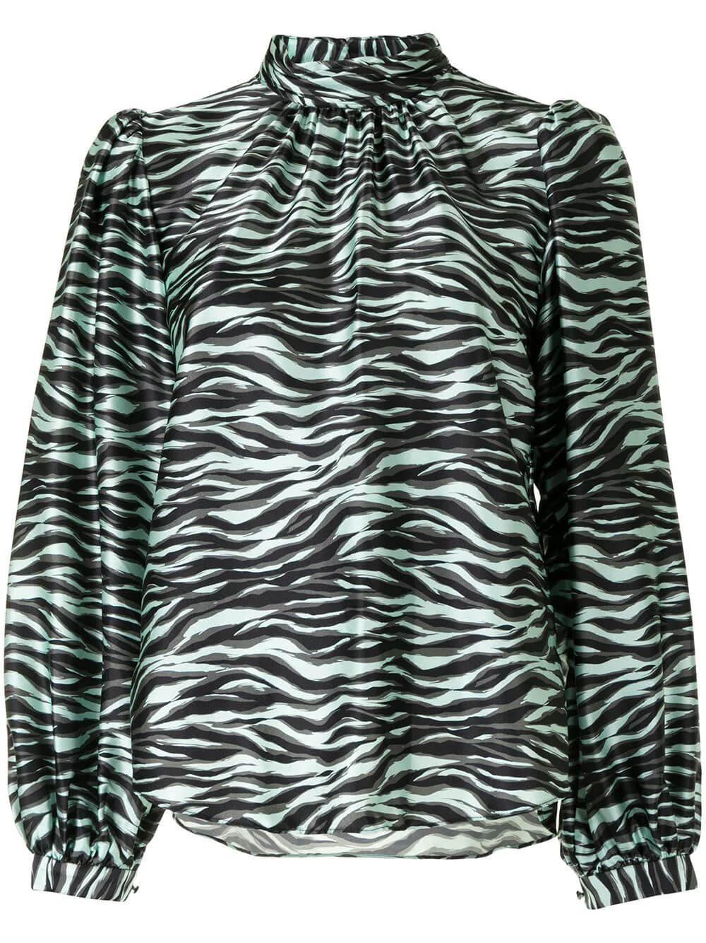 Jordan Zebra Print Top