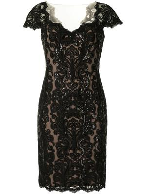 Sequin and Lace Dress
