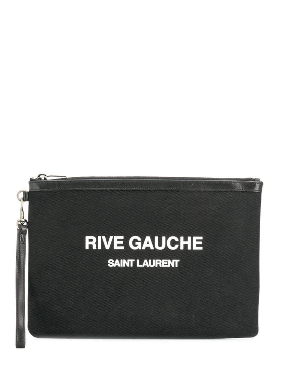 Rive Gauche Linen Pouch Item # 56572296NAE