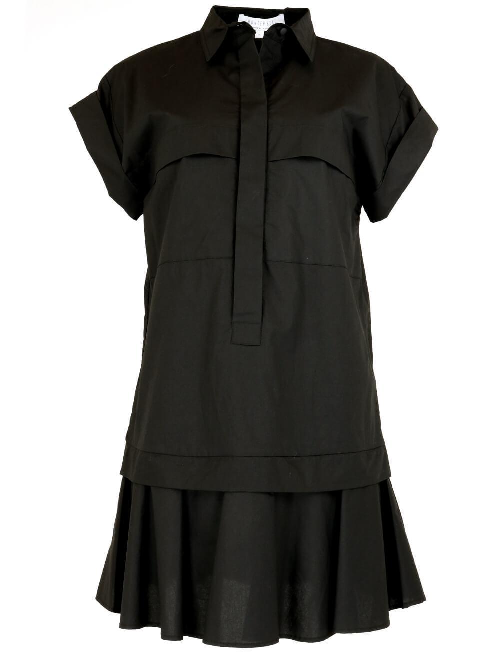 Addison Poplin Short Dress