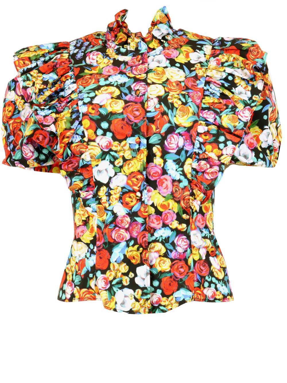 Knox Floral Top