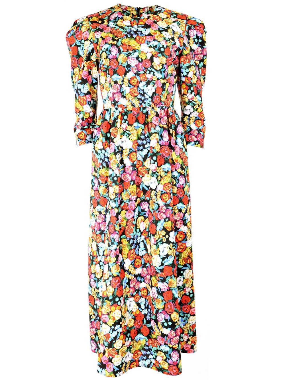 Patterson Floral Dress Item # 20FD21
