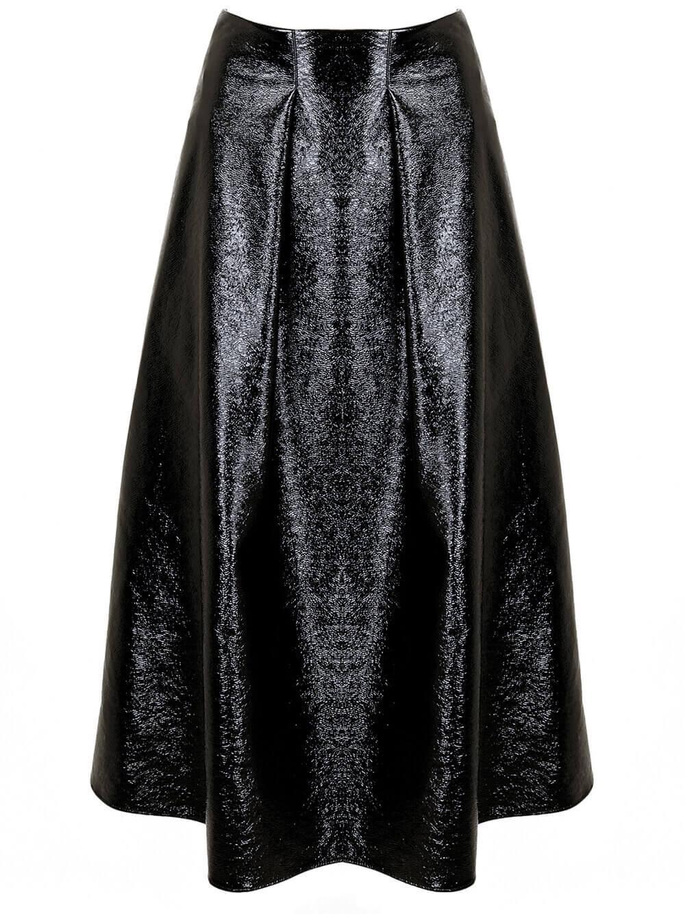Alexis Patent Skirt Item # 20FSK22