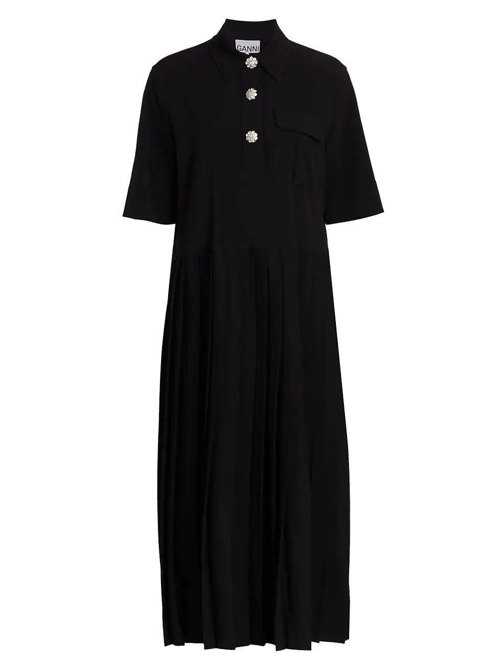 Melange Suiting Dress