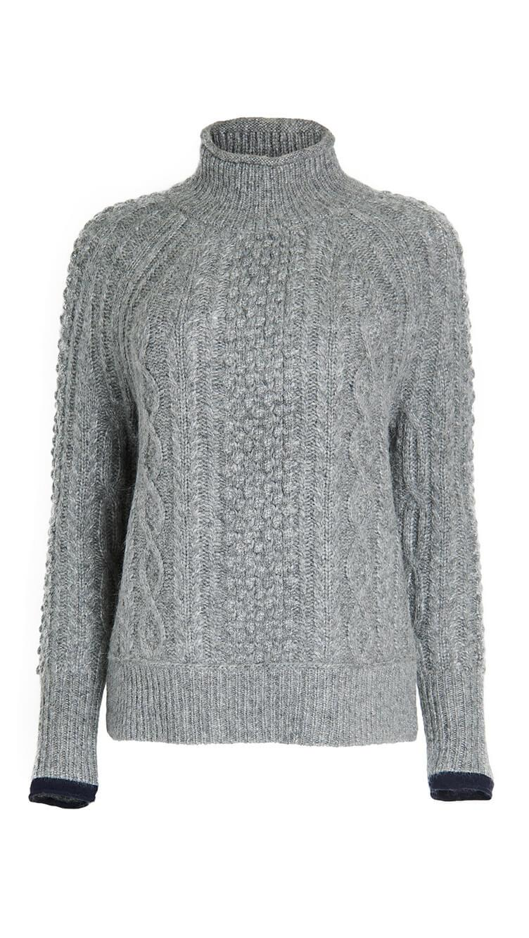 Kamil Cable Sweater Item # 200-WW042-2035
