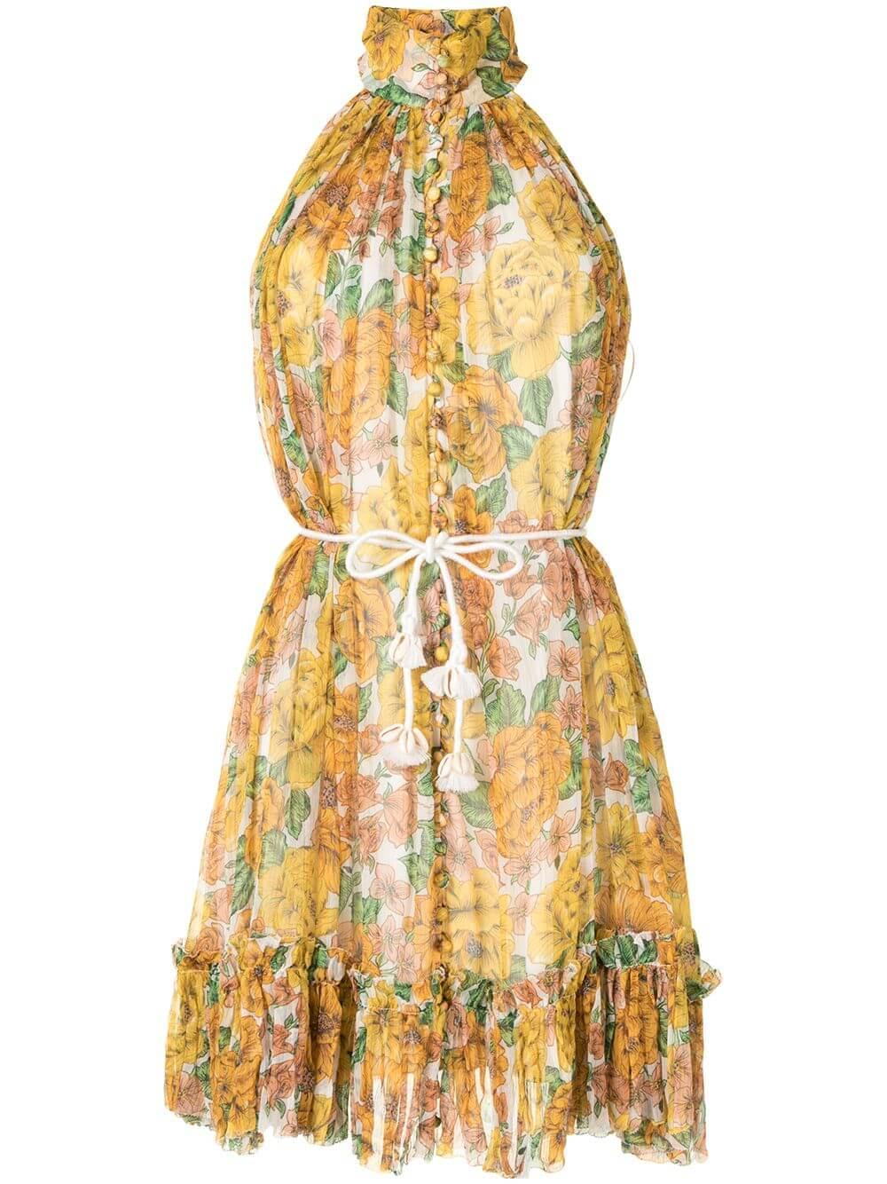 Poppy Halter Dress