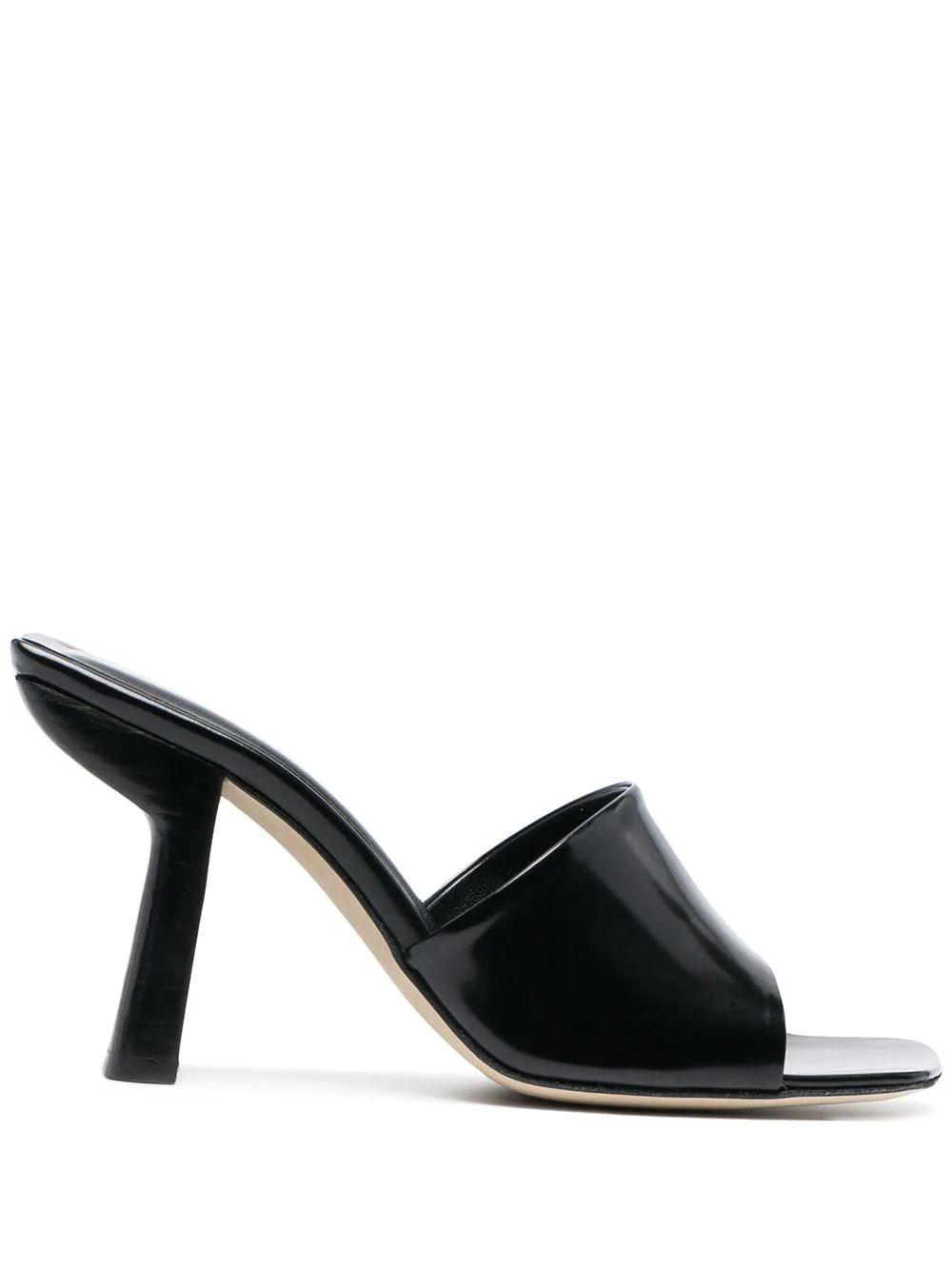 Liliana Semi- Patent Mule Item # 21CALILIHBLW