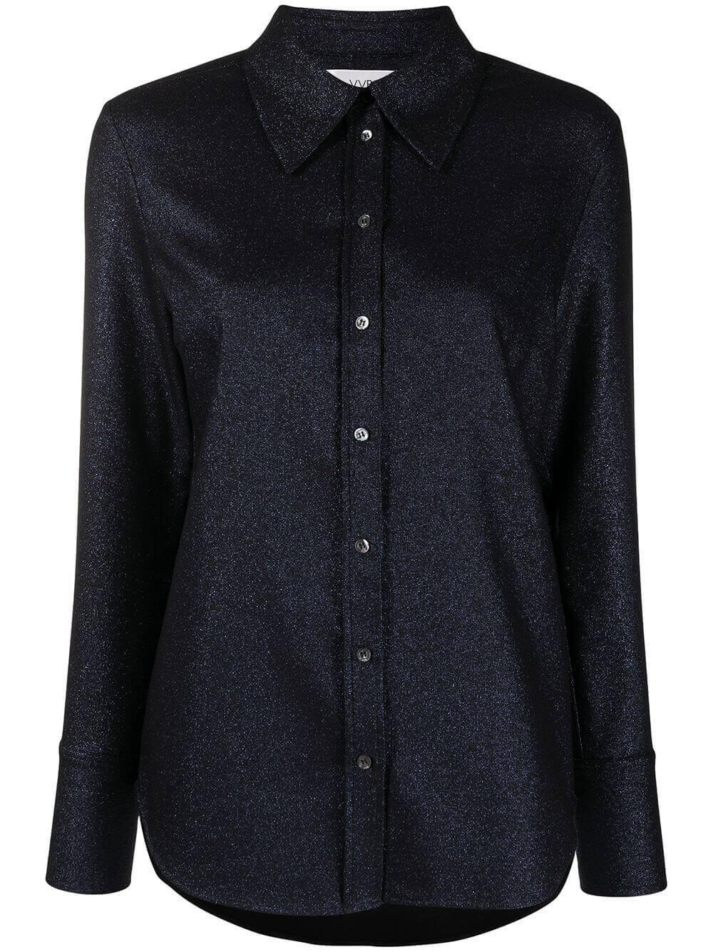 Lurex Tailored Shirt