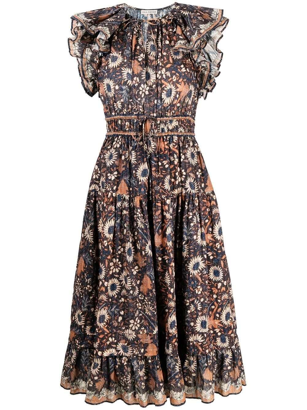 Analise Midi Dress