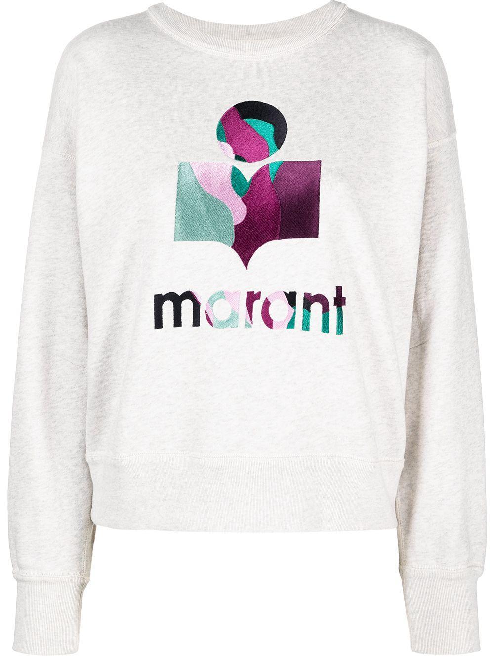 Mobyli Swirled Logo Sweatshirt