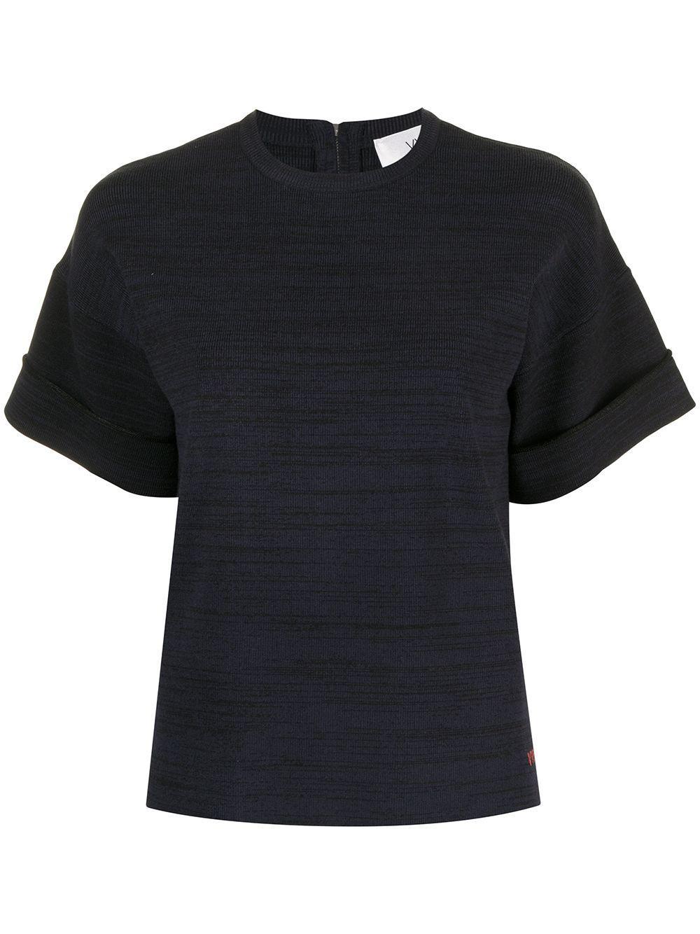 Boxy Marl Knit T-Shirt