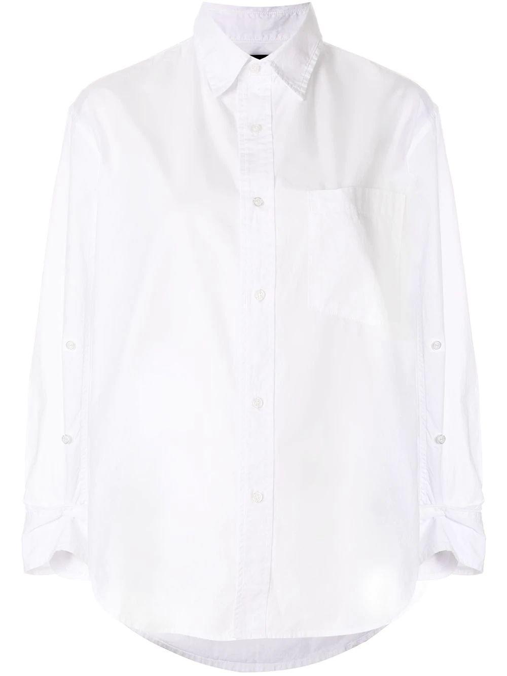 Kayla Button Down Shirt Item # 9103-741-S21