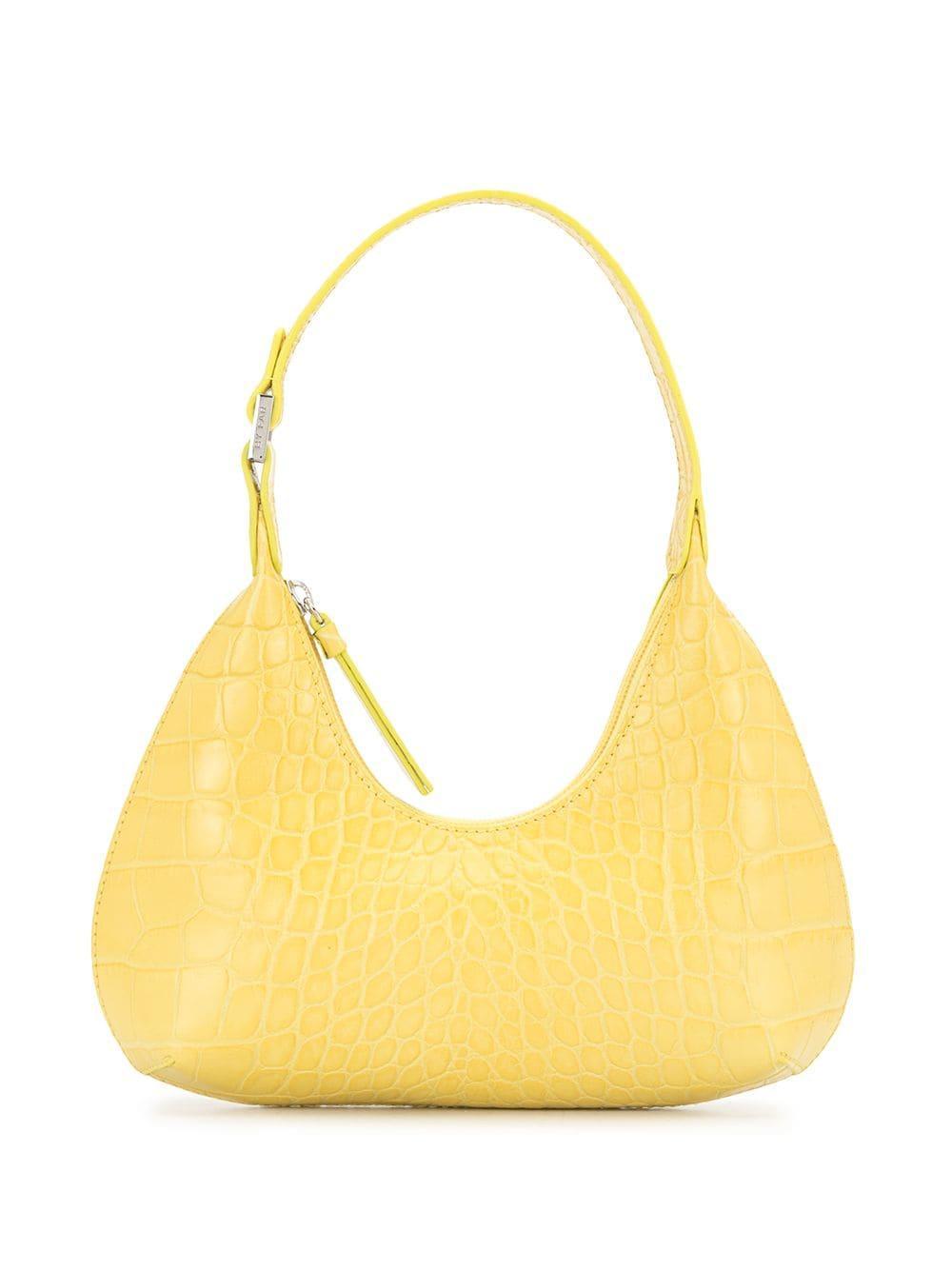 Baby Amber Croco Bag Item # 21CRBASCUSDSMA