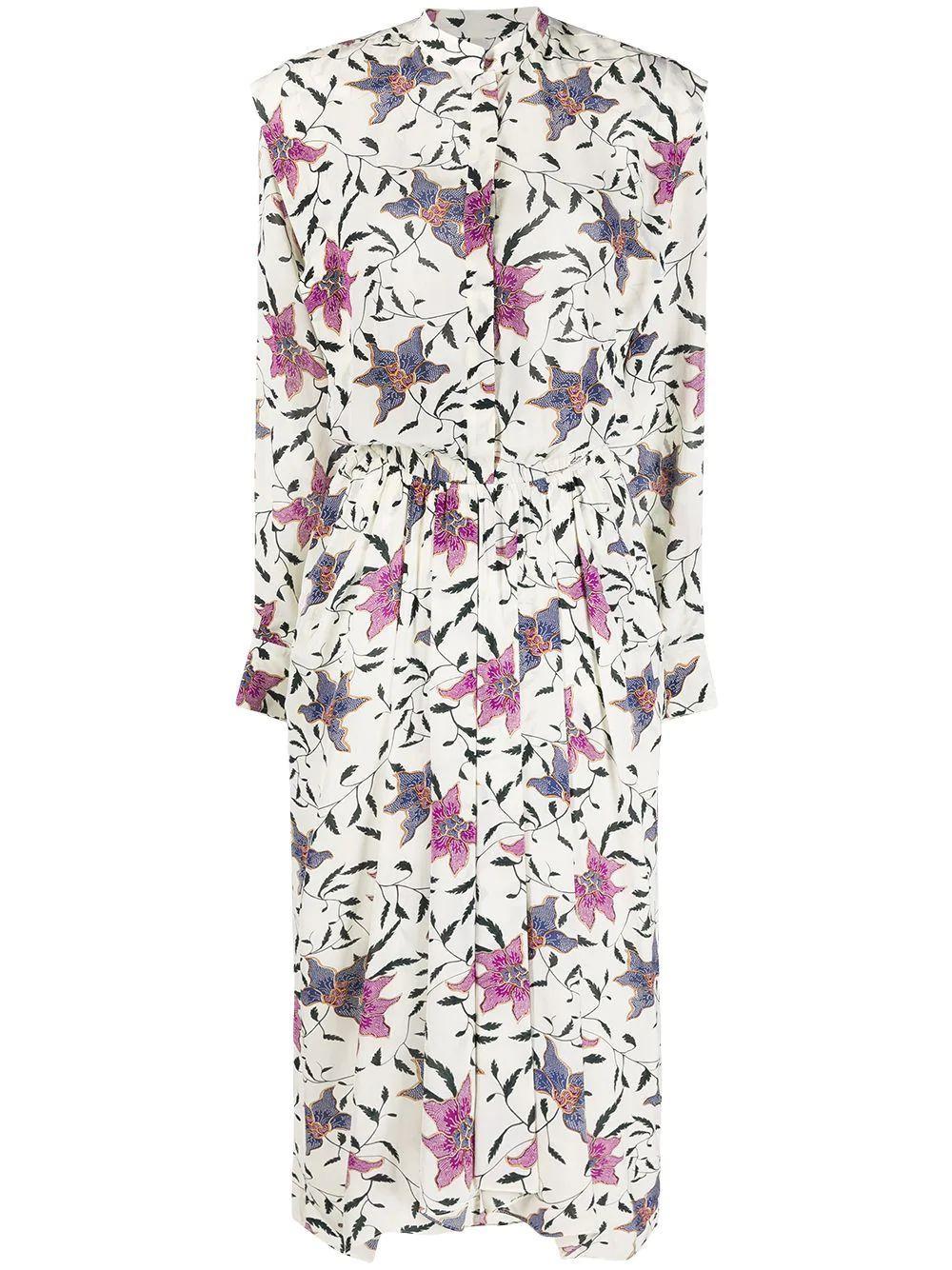 Okley Floral Printed Dress