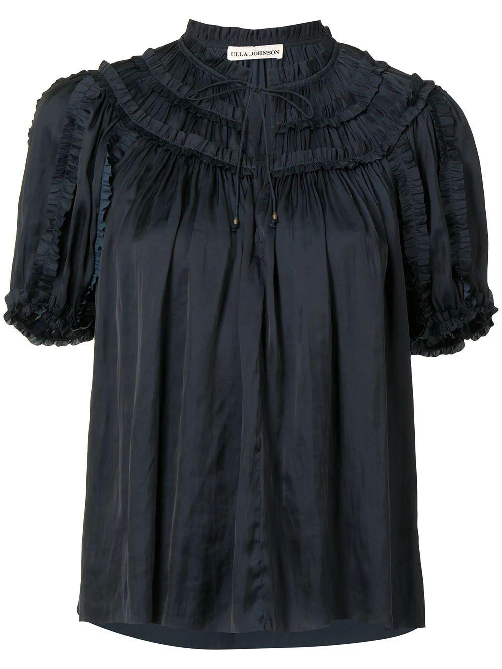 Aimee Puff Sleeve Blouse Item # PS210218