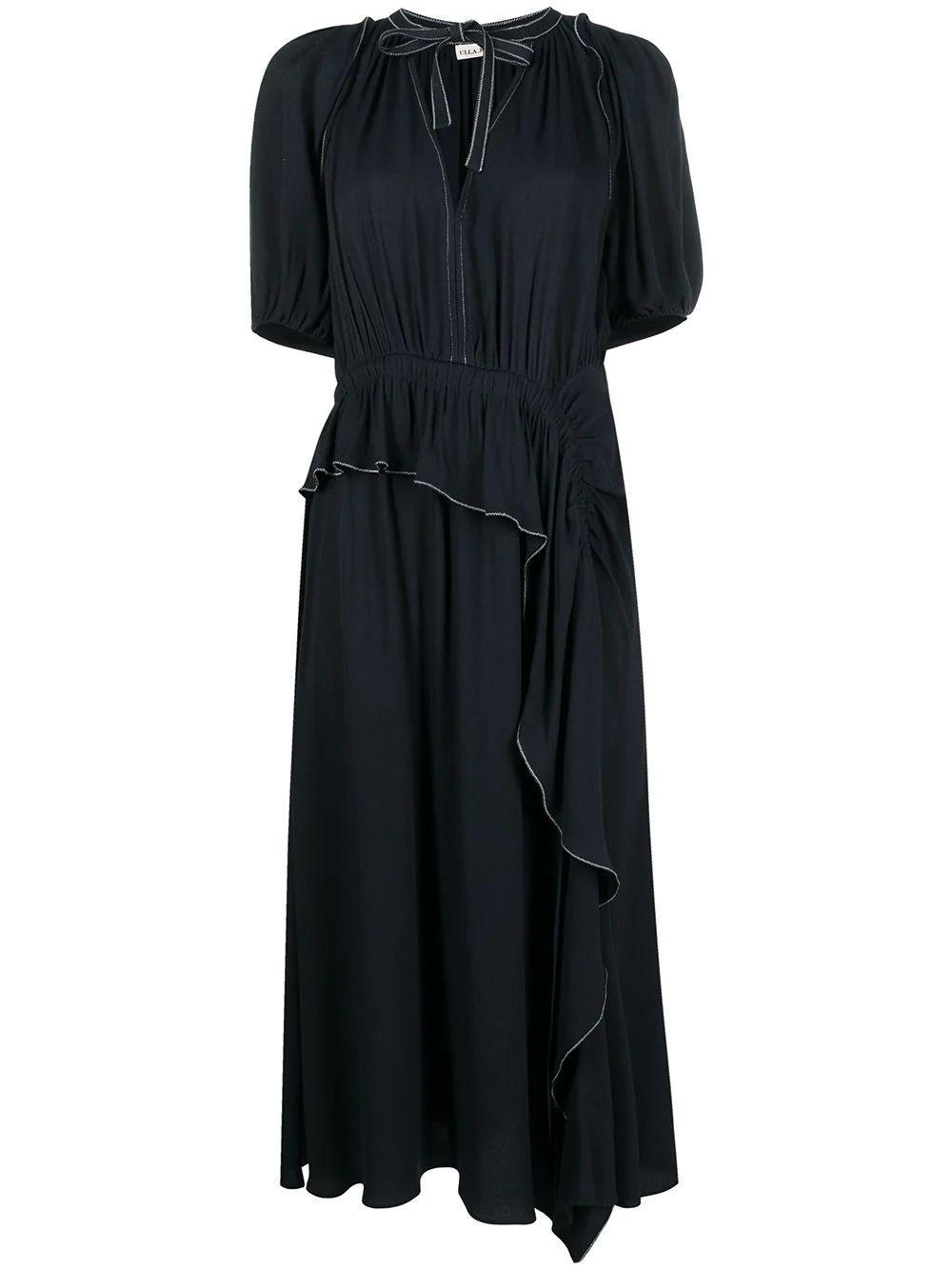 Leah Ruffle Front Dress Item # PS210107