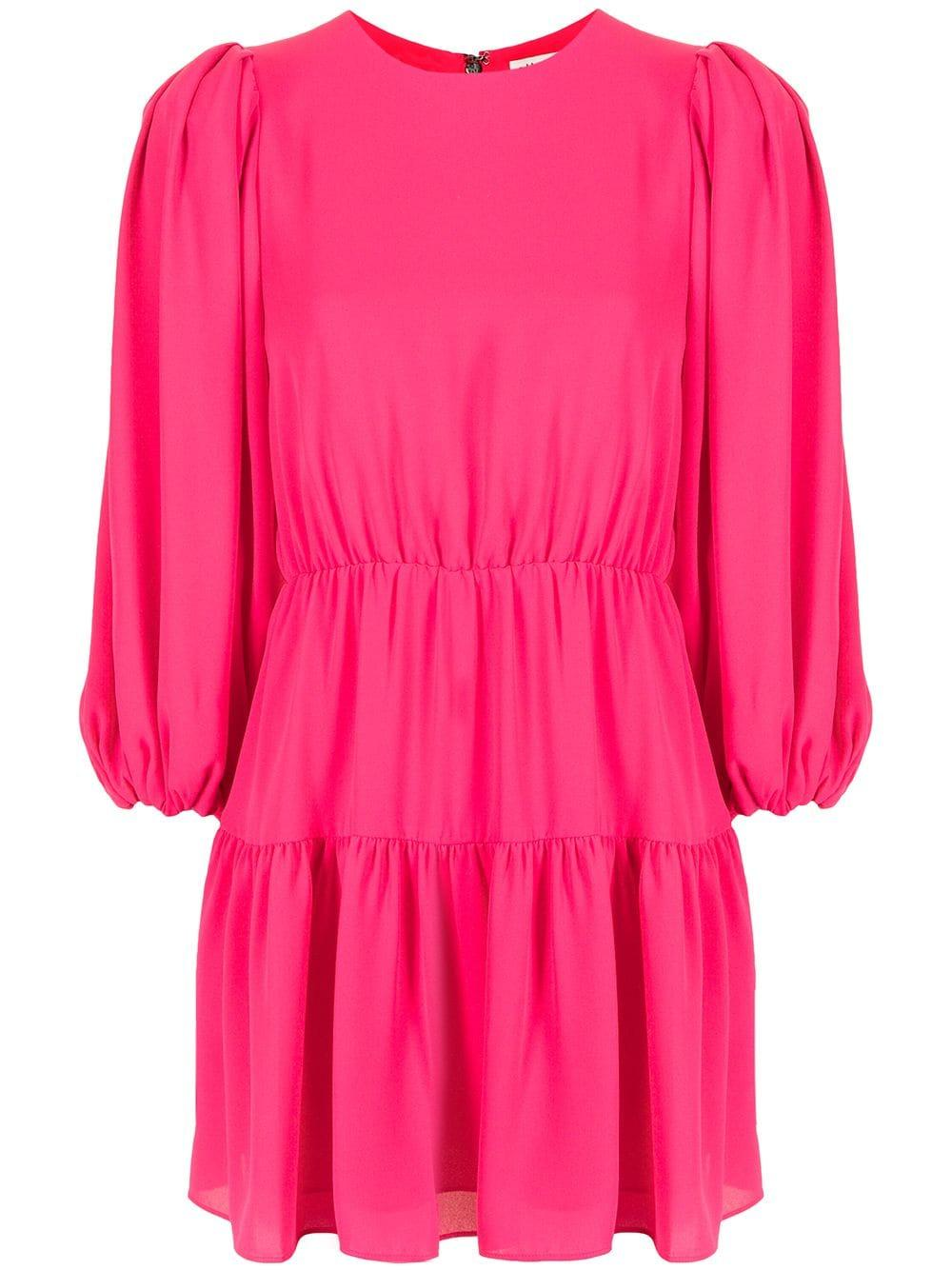 Shayla Puff Sleeve Tiered Dress