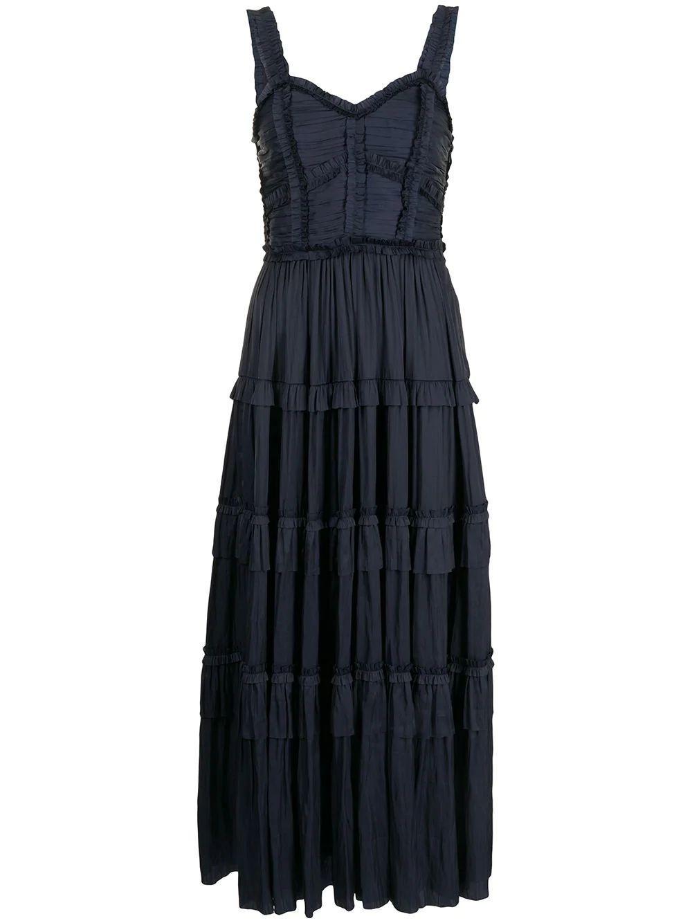 Gwynne Tiered Maxi Dress Item # PS210121