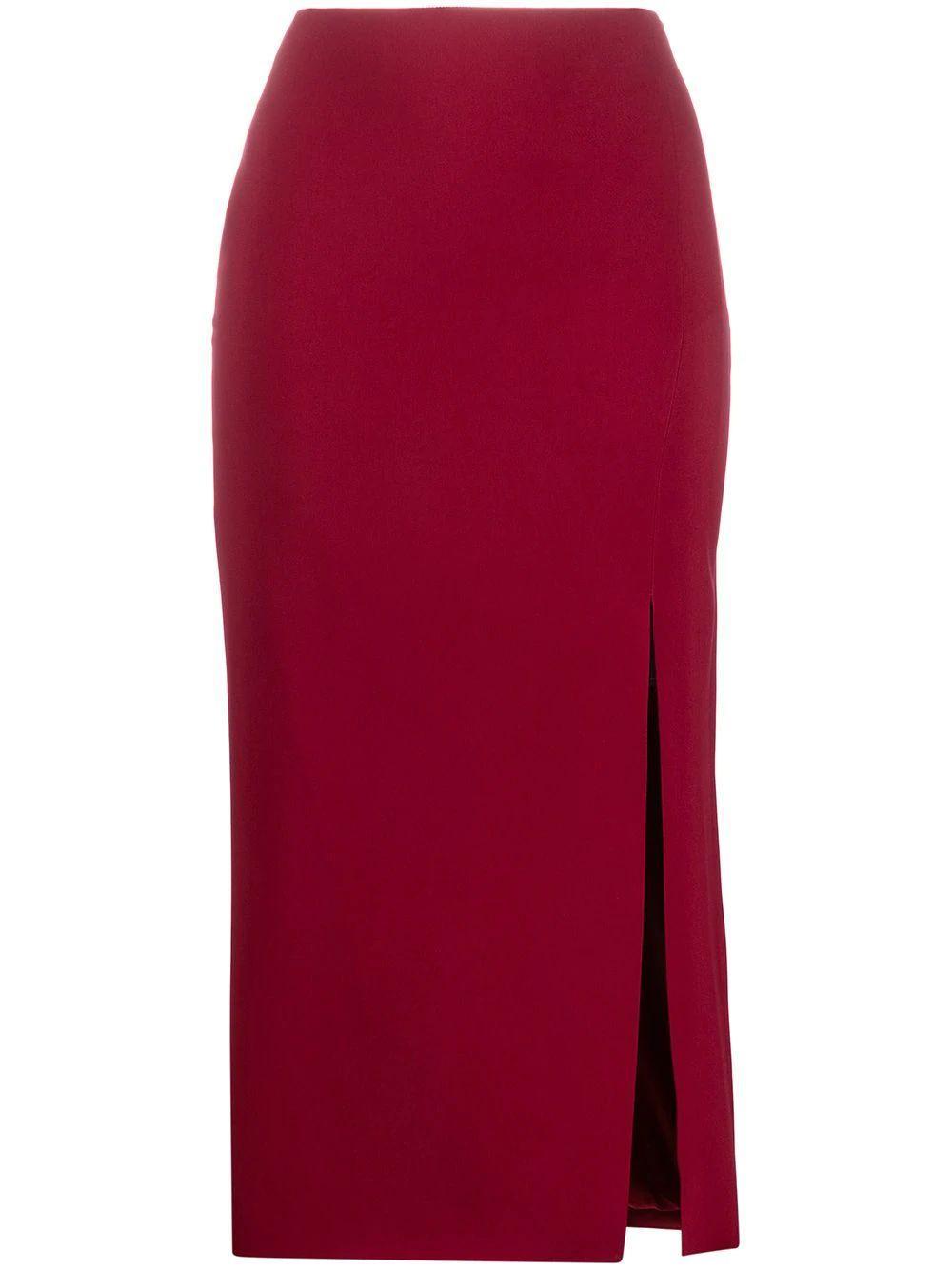 Side Slit Pencil Skirt Item # VB3RA77065C