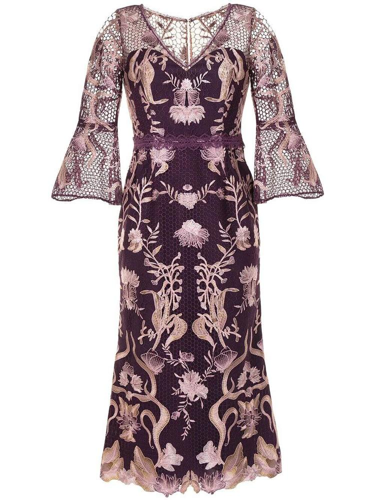 Floral Embroidered Dress Item # N43C2270-C