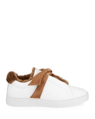 Clarita Sneaker With Fur