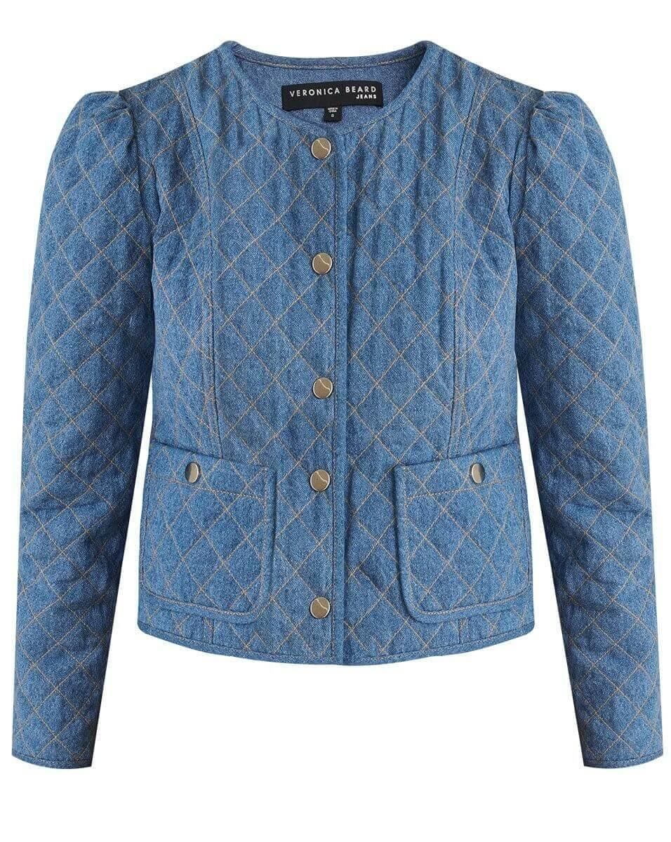 Camilla Quilted Jacket Item # J20127750854AG