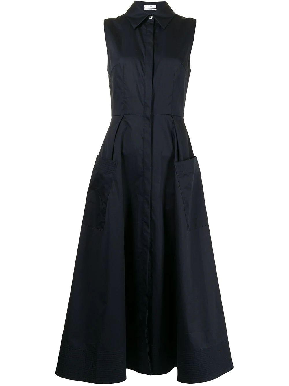 Button Down Shirt Dress Item # 4683STN-ESSN