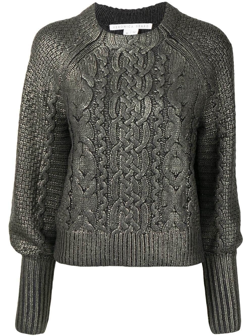 Yola Foiled Sweater