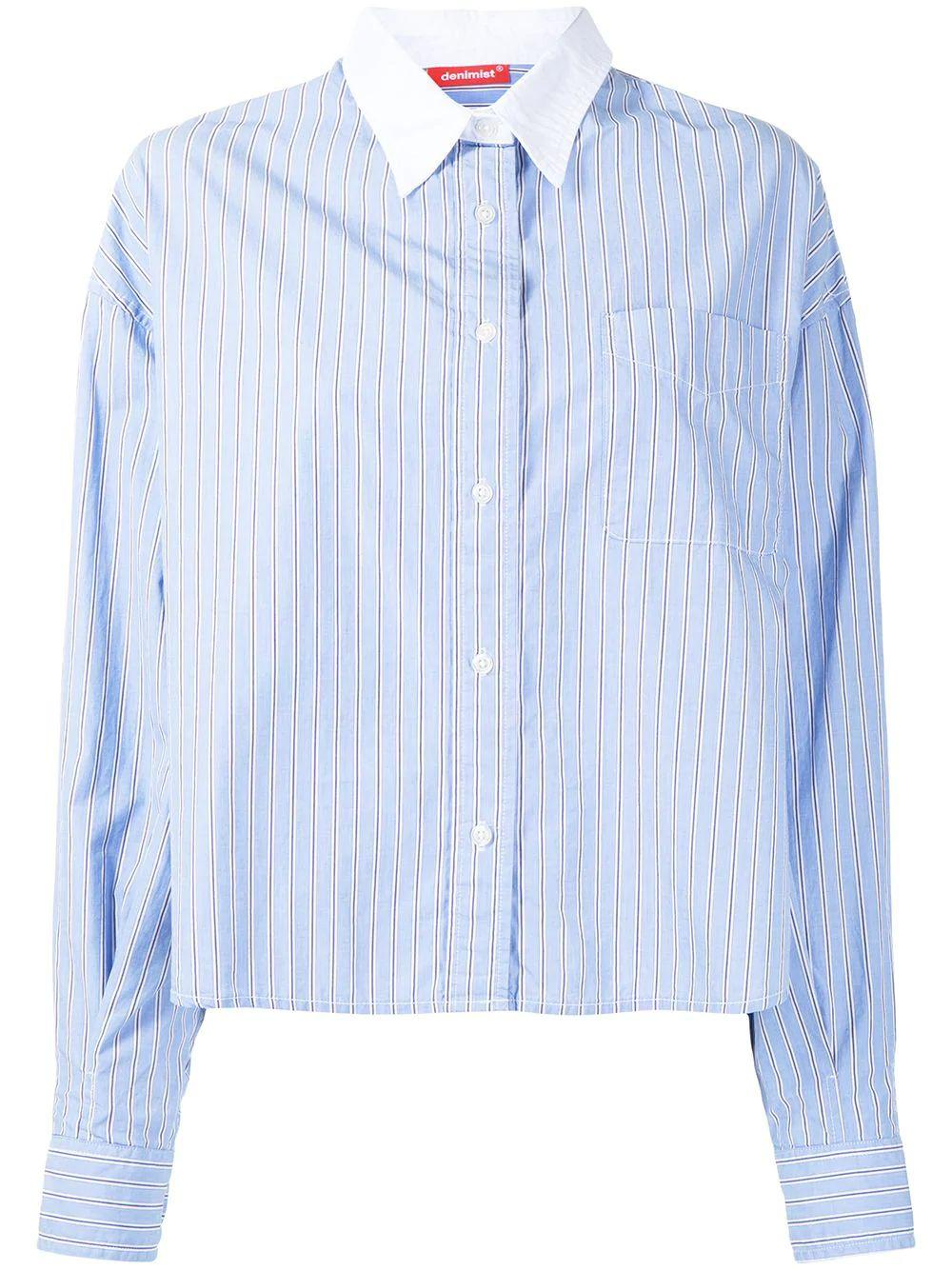 Mayfield Boxy Button Down
