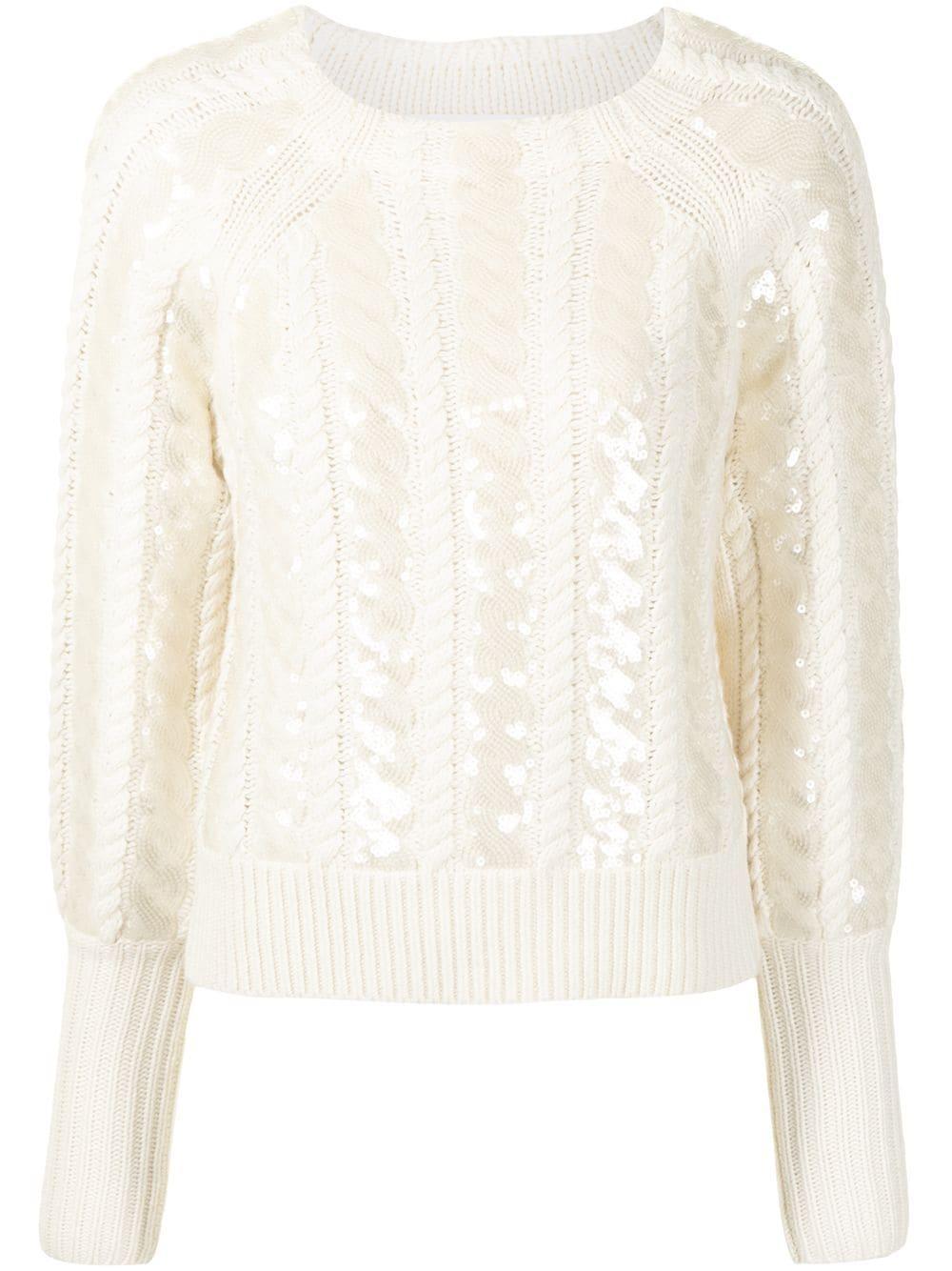 Yola Sequin Sweater Item # 2010KN5209513