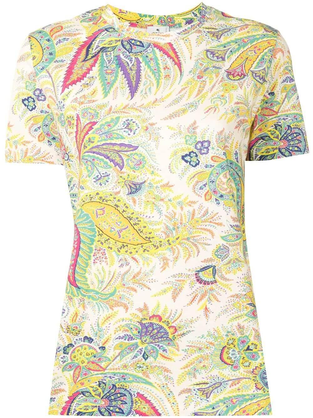 Paisley Print T- Shirt Item # 211D145169489