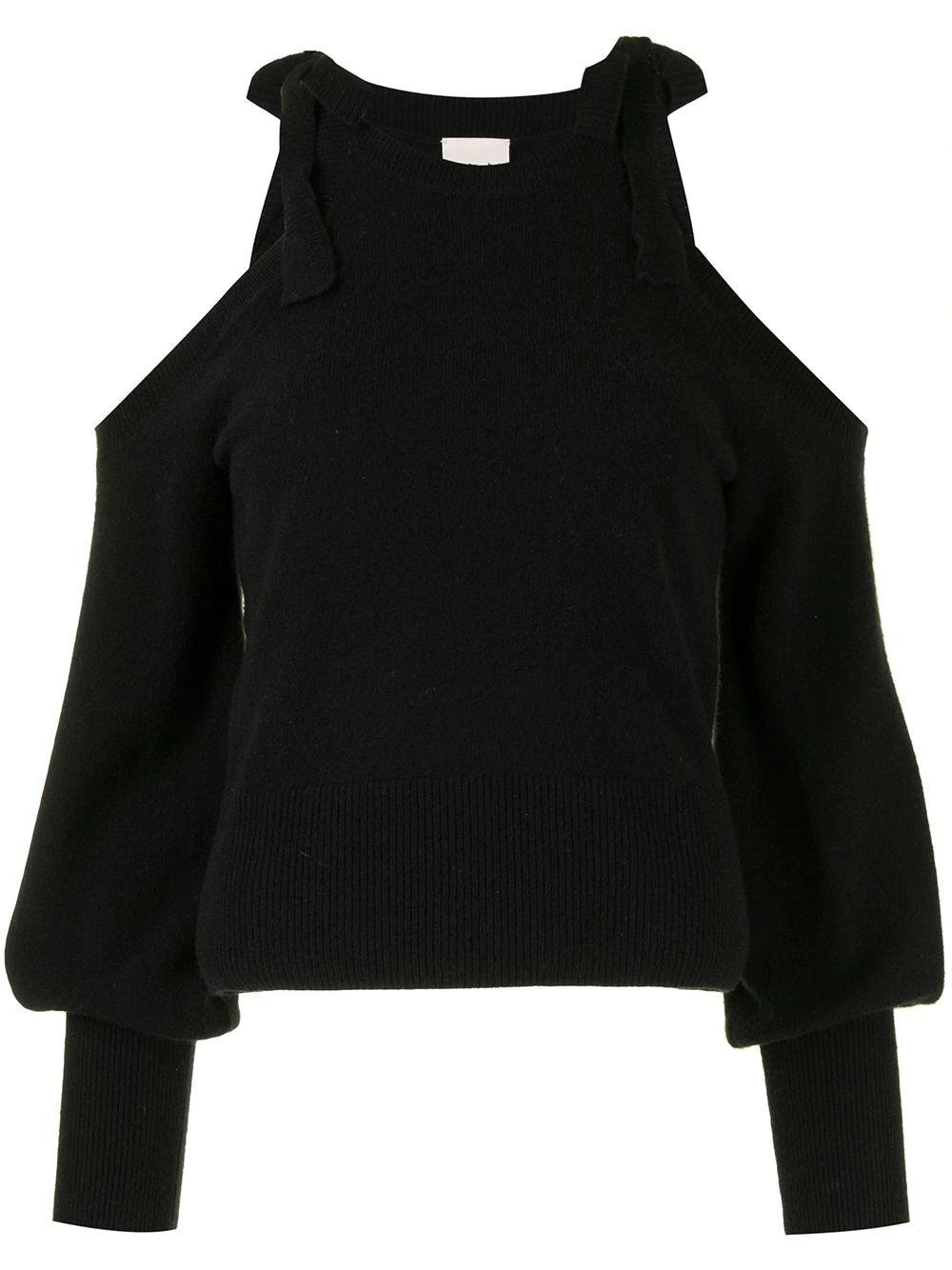 Briana Cold Shoulder Sweater