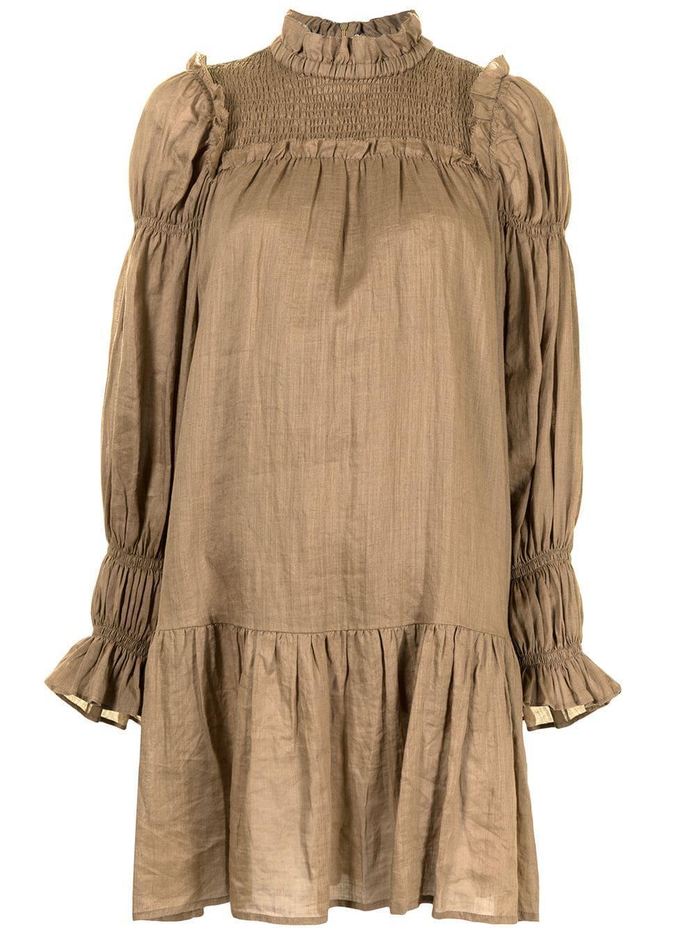 Hattie Ramie Tunic Dress