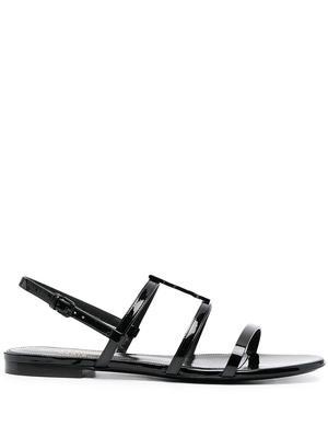 Cassandra Monogram Sandals