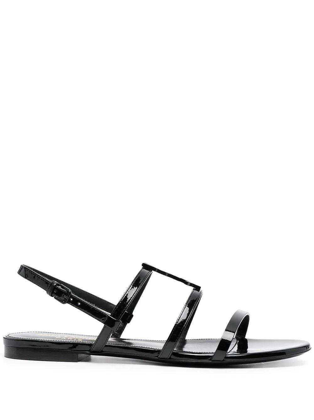 Cassandra Monogram Sandals
