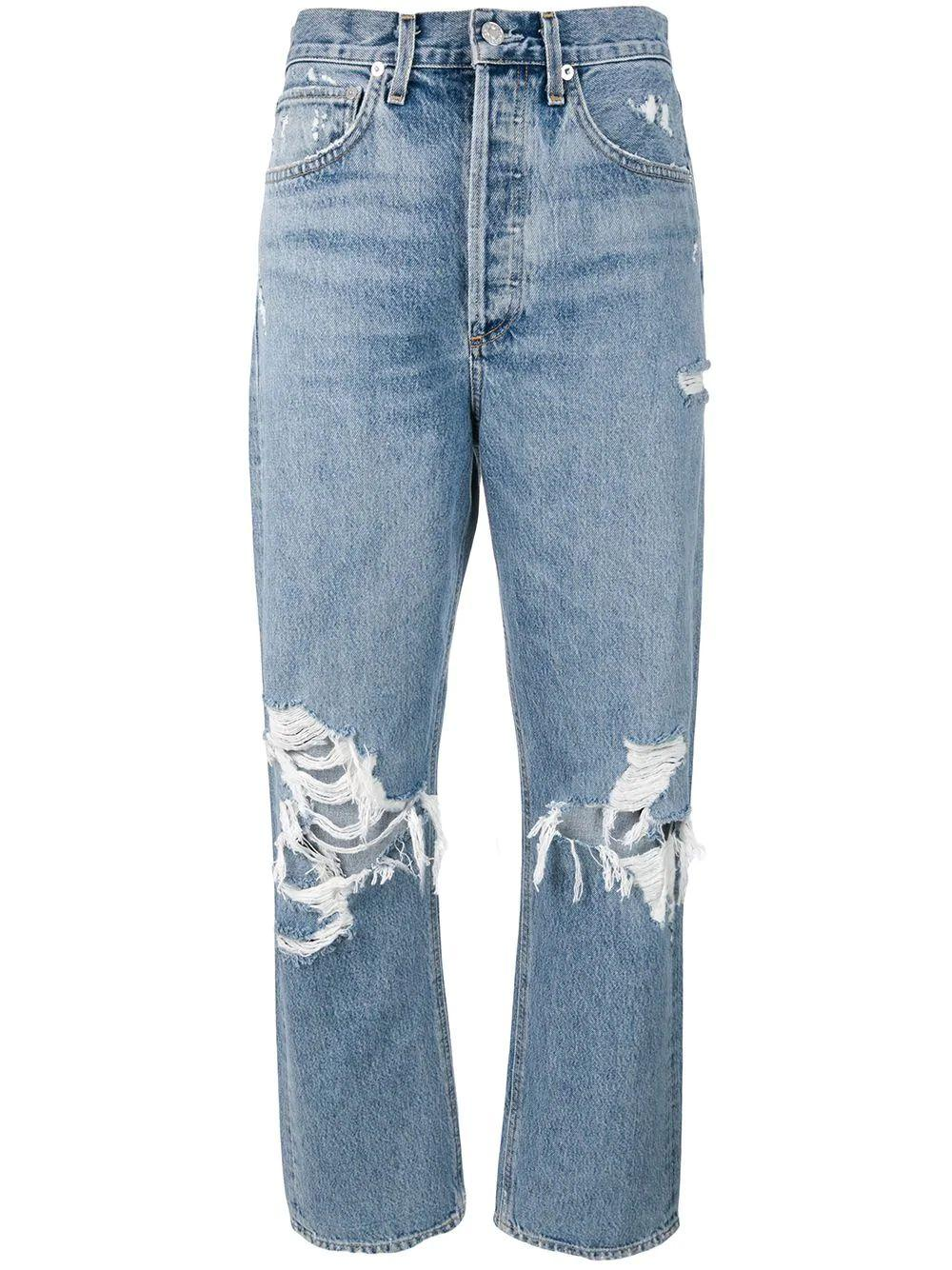 90s Fallout Distressed Jean Item # A069C-811