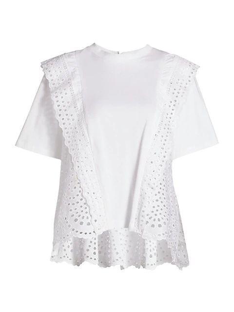 Zane Eyelet T-Shirt