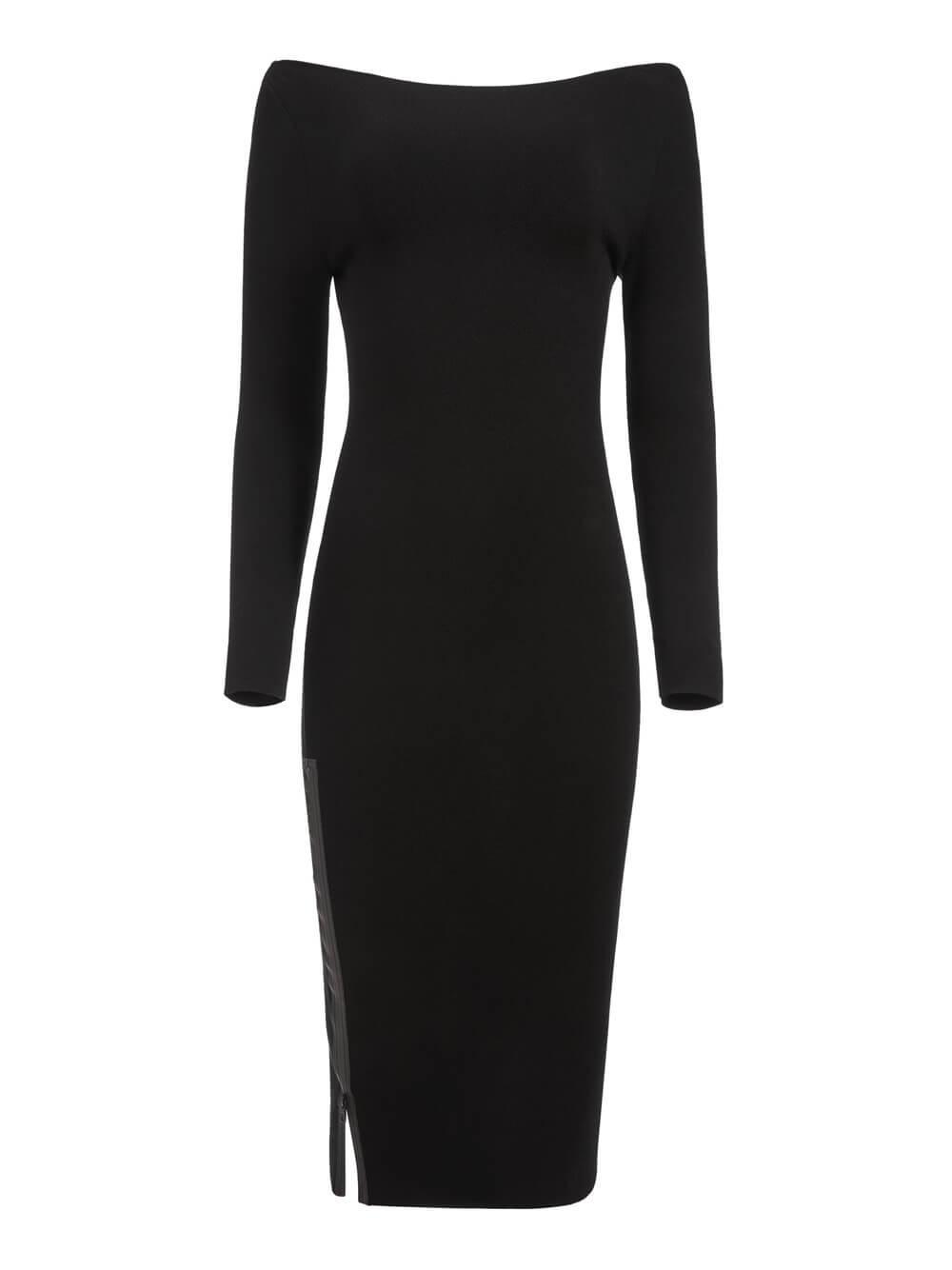 Rochelle Boatneck Midi Dress Item # CL000526702