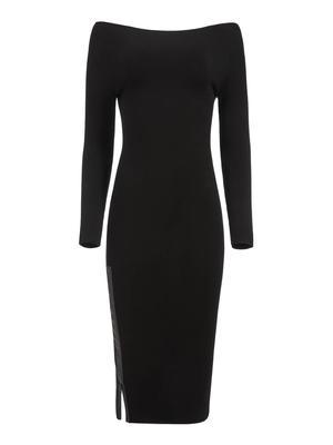 Rochelle Boatneck Midi Dress