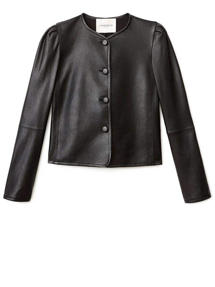 Leather Scarlet Jacket Item # MJCH3R-L203