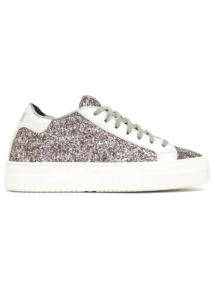 Thea Glitter Platform Sneaker