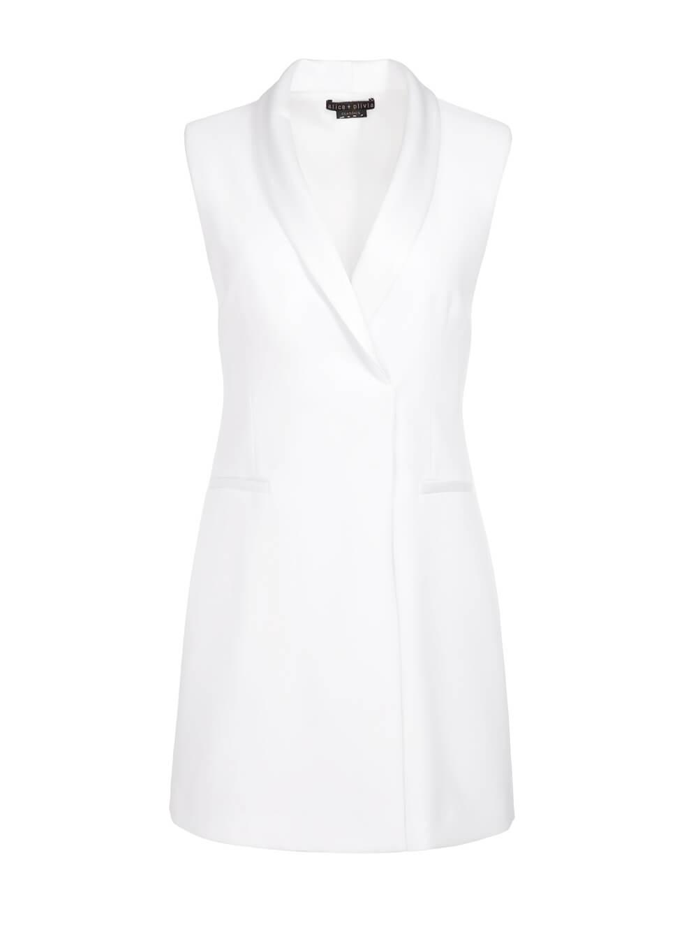 Valentina Tuxedo Dress