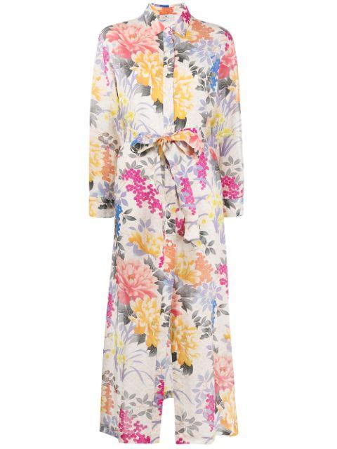Floral Shirt Dress Item # 211D146015460