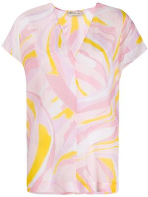Vetrate Cotton Voile Cover-Up