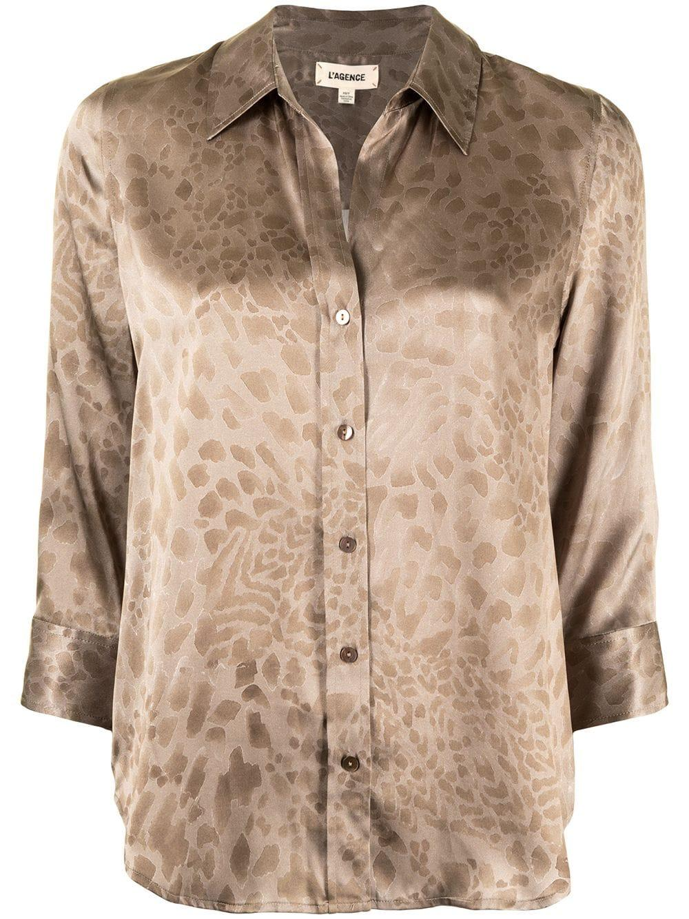Dani Leopard Print Blouse