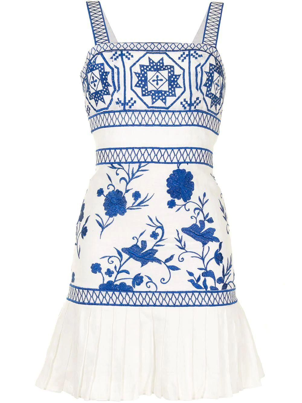 Asteria Embroidered Dress