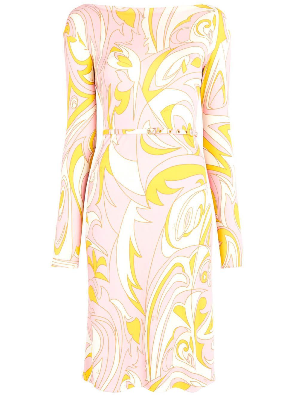 Dinamica Printed Dress