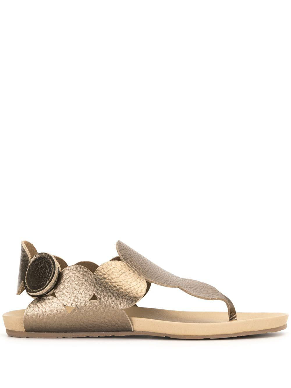 Jamee Metallic Sandal